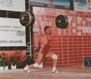 Guy Greavette - 1988 CSC - 195kg Jerk