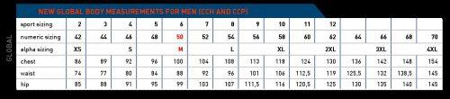 adidas Climalite Singlet Sizing Chart Men