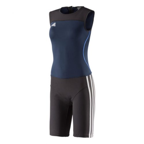 adidas Weightlifting Climalite Suite Woman Blue Z11187