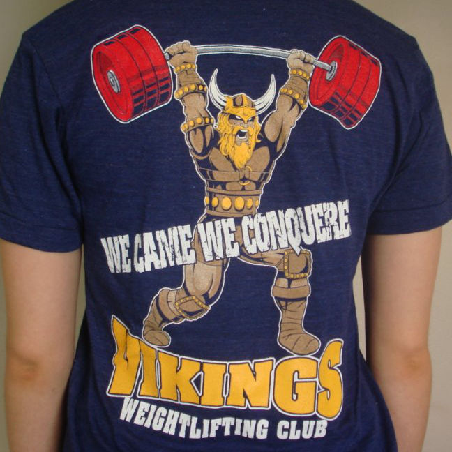 Viking Weightlifting Club T-Shirt