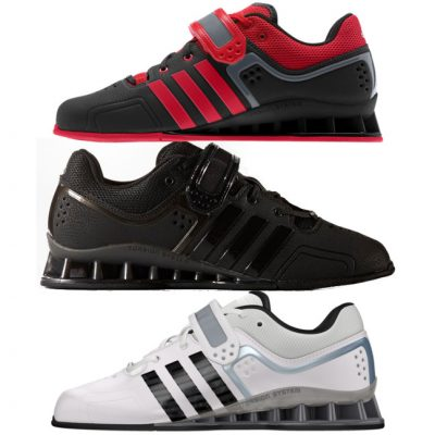 adidas adipower weightlifting shoes black red and White