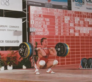 Guy Greavette - 1988 CSC - 195kg Clean