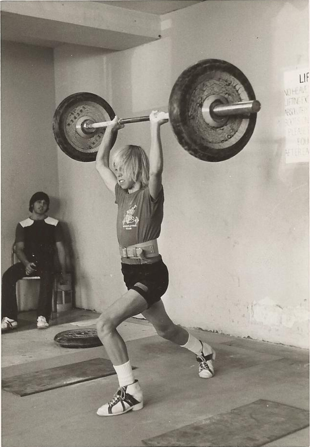 Guy Greavette Viking Weightlifting Equipment