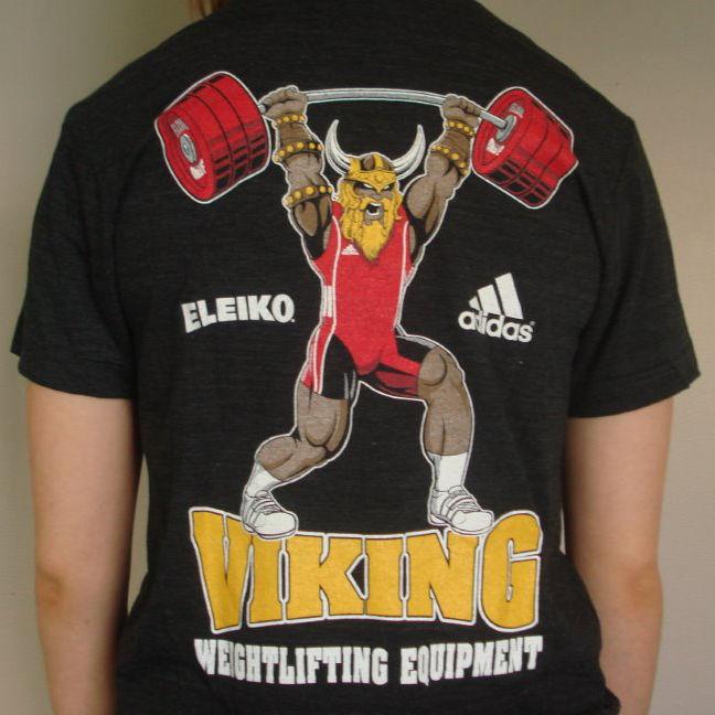 Viking Weightlifting Equipment T-Shirts 57717f18e6