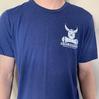 Viking Weightlifting Club Navy Blue Front