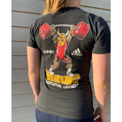 viking weightlifting Club woman back