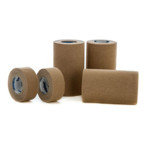Tensoplast Elastic Adhesive Bandage Brown 5 cm x 4.5 m