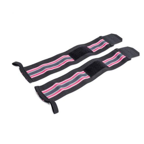 EleikoOlympic Weightlifting Wrist Wrap – Solar Pink
