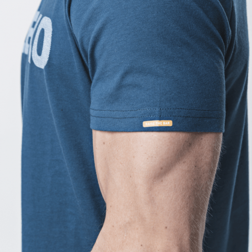 Eleiko Energy T Shirt Men Strong Blue Side