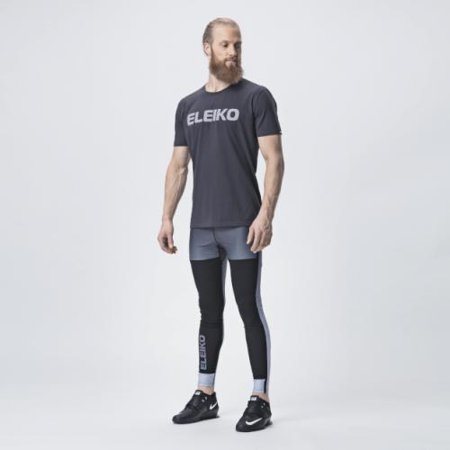 Eleiko Energy T Shirt Men Strong Gray