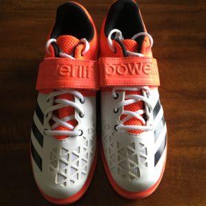 Powerlift Weightlifting Shoe Orange Front