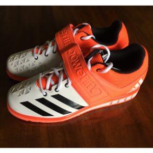 Powerlift Weightlifting Shoe Orange Side