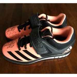 Powerlift Weightlifting Shoe Pink-black Side