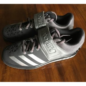 Powerlift Weightlifting Shoe black gray Side