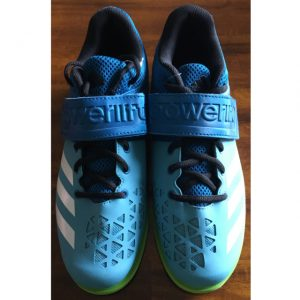 Powerlift Weightlifting Shoe blue Front