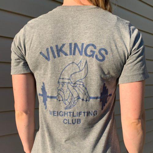 viking Retro Back woman